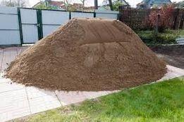 Песок горный мытый от мешка до самосвала для штукатурки бетона стяжки