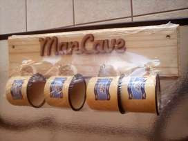 Blue Bulls Rugby ManCave Enamel Cups Gift Set Brand New Products.