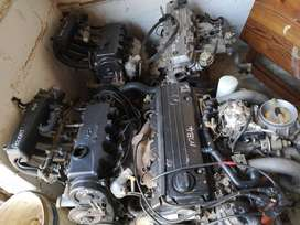 A variety of engines for sale