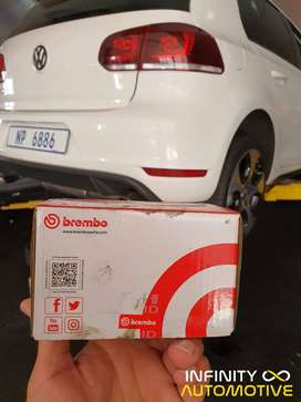 Brembo braking - Stop in time, always with Brembo