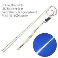 """LED подсветка для мониторов до 24"""" 535мм с рег яркости,т/скотч"""