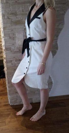 Elegancka czarno-biała sukienka H&M rozm. 38 - nowa! Toruń - image 2