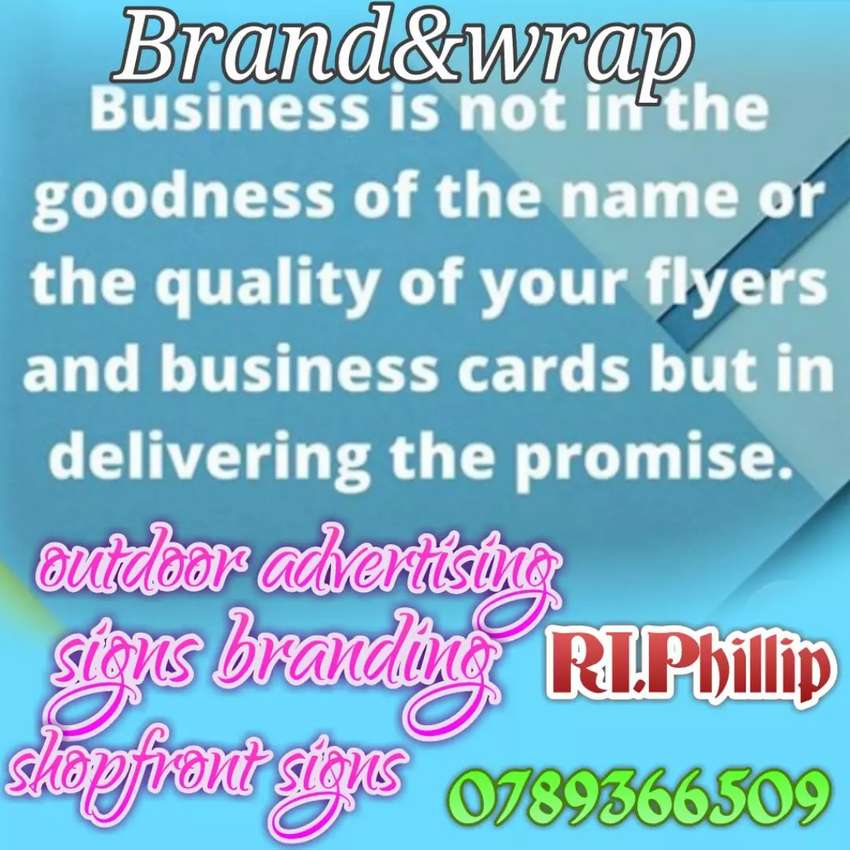 Signage branding and outdoor Advertising 0