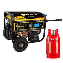 Газобензиновый генератор Forte FG LPG 6500E пропан/бутан/магистральный