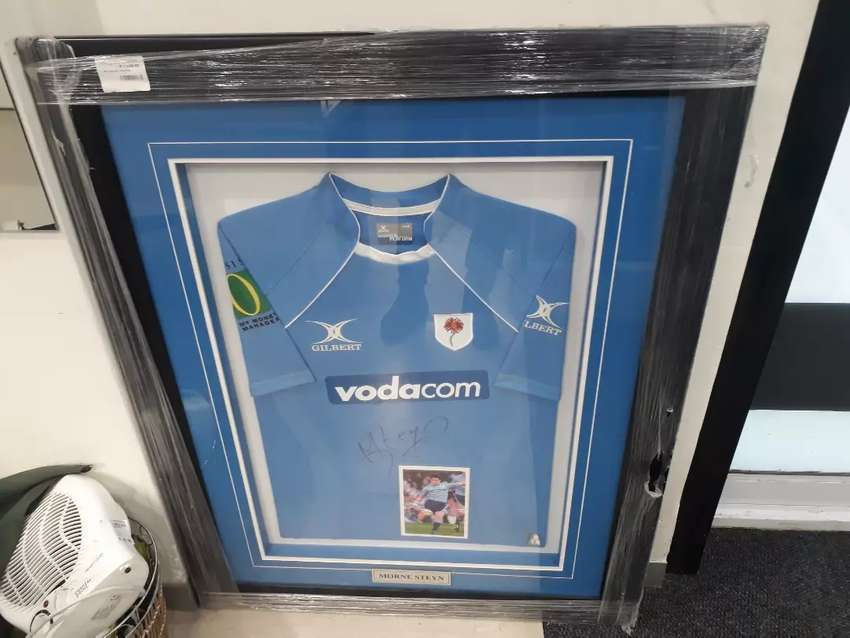 MORNE STEYN AUTHIGRAPHED RUGBY JERSEY 0
