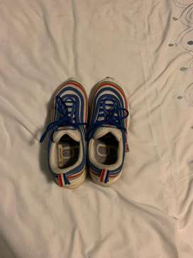Nike Air Max 97 blue,red and white