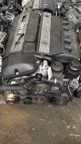 Complete engen m54  525i start and go  and e39  complete head 530d