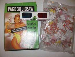 puzzle z Sharon Stone 3D dla dorosłych