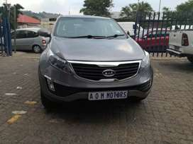 2011 Kia Sportage 2.2 manual