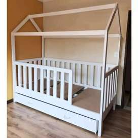Looks like a simple house bed