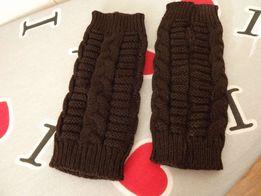 Митенки новые (перчатки без пальцев),20 см