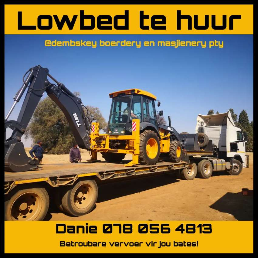 Lowbed to rent 0