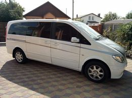 Пассажирские перевозки аренда микроавтобуса Mercedes Vito Viano