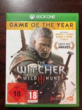 THE WITCHER WILD HUNT GAME OF THE YEAR EDITION