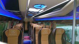 Przewóz osób Kraj&UE Wynajem busa z kierowcą (Bus 7,8,9, 20, osób)