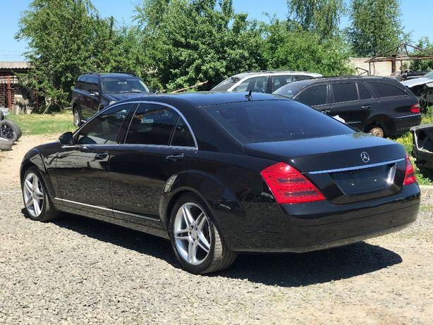 Разборка Mercedes s-class w221 капот крыло бампер дверь порог решетка Луцк - изображение 3