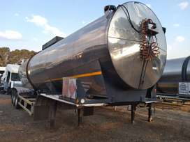 Samtor Cladded tri axle HFO TANKER for sale