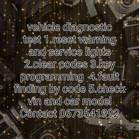Vehicle diagnostic test for all makes and models