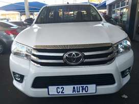 2017 Toyota Hilux 2.4 Gd6 SRS Single Cab