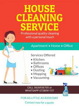 Sparkling Cleaning Services sr