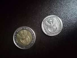 R5 and R2 rare coins