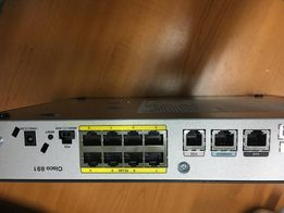 router роутер cisco 891 k9 (12к рублей)