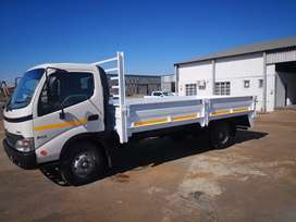 2012 Hino 915 with dropside body