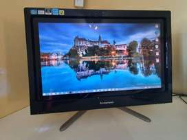 Lenovo all-in-one touch screen computer
