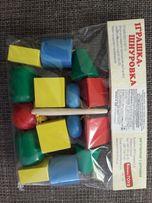 Шнурівка буси дерев'яні (деревянные бусы макси)