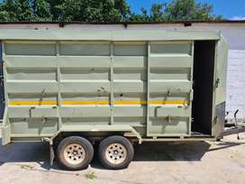 Boer Bull Wildlife Trailer