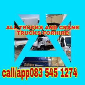 ALL AND TRAILERS FOR HIRE