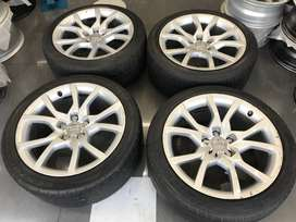 Audi A5 original 18 inch mags for sale!