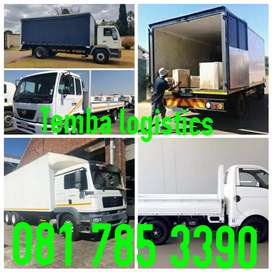 Transport for hire furniture and rubble