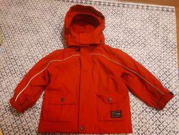 Czerwona kurtka dla dziecka rozm. 92 z odblaskami