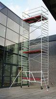 Wynajem rusztowanie aluminiowe, wieża aluminiowa 12m roboczych