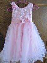 Sukienka tiulowa na 3-4 latka