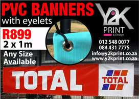 Printing of PVC Banners