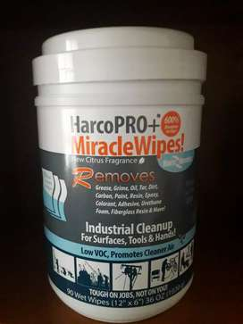 Miracle Wipes (90 wipes in a TUB)