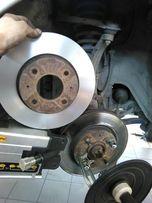 Проточка тормозных дисков по месту, без снятия с автомобиля