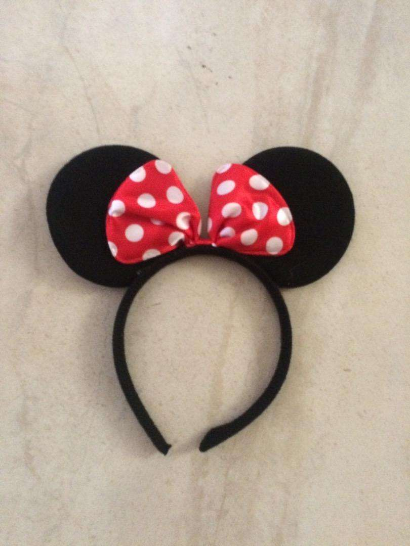 Minnie mouse head accessory 0