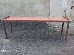 Вечный стол, верстак для гаража, столешница 2,5 м