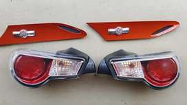 Toyota 86/ Subaru BRZ tail lights and fender emblems