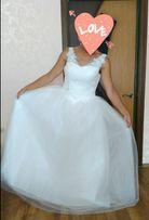 Классное, Красивое,НОВОЕ свадебное платье !!! 46 размер\10размер