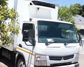 4 Ton refrigerated truck plus driver for hire. Food, Dairy, Beverages