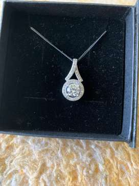 Silver Necklace for sale