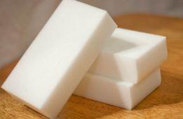 Белые меламиновые губки 10х6х2 см Супер цена! Плотные! оптом