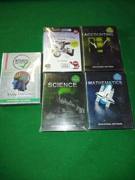 Educational software dvds (NEW)