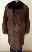 Продам мужскую дубленку из цегейки, индивидуальный пошив, размер - 56