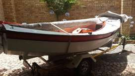 Houdini Boat and Trailer for Sale