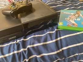 Brand new XBOX 1 with controller and fifa 19